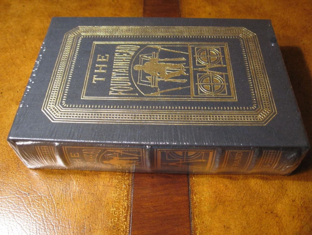 Easton Press THE FOUNTAINHEAD Ayn Rand SEALED Limited Deluxe Edition