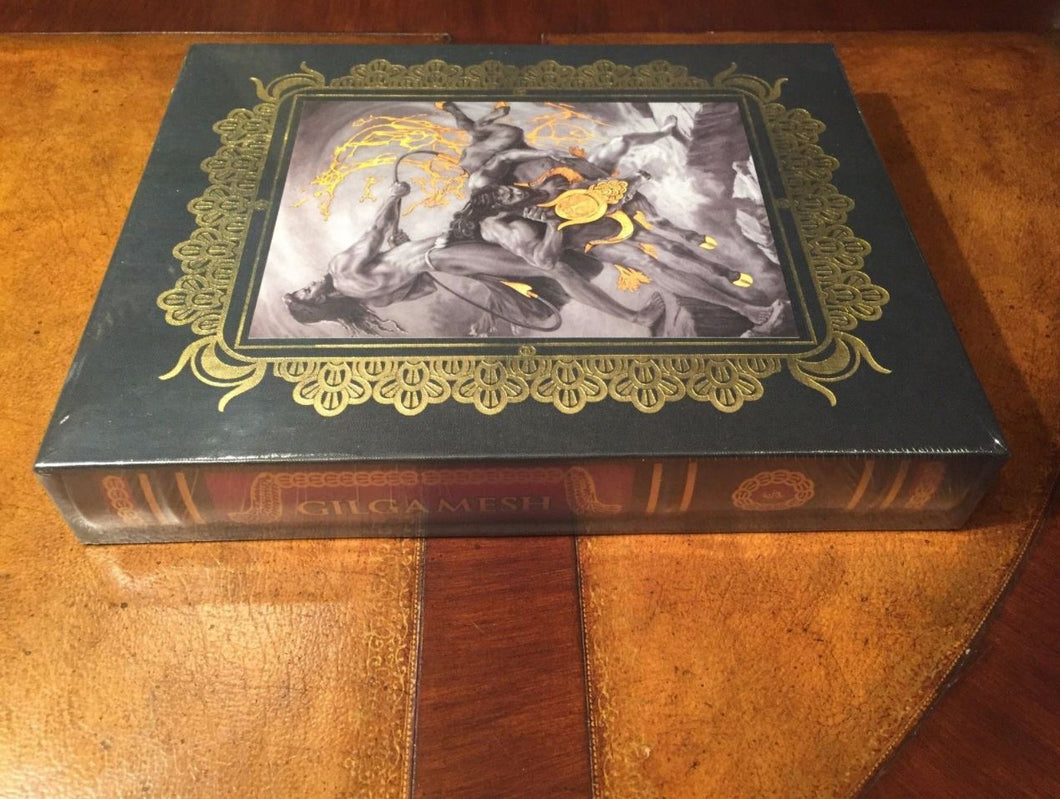 Easton Press GILGAMESH A Signed Edition Deluxe Slipcase Edition SEALED