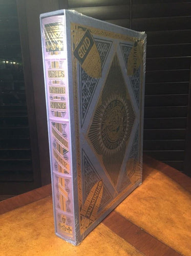 Easton Press Alfred Lord Tennyson's IDYLLS OF THE KING Deluxe Limited SEALED