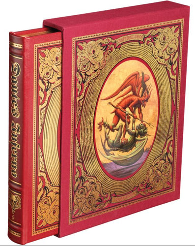 Easton Press Dante Alighieri's INFERNO SEALED Deluxe Limited Edition SIGNED