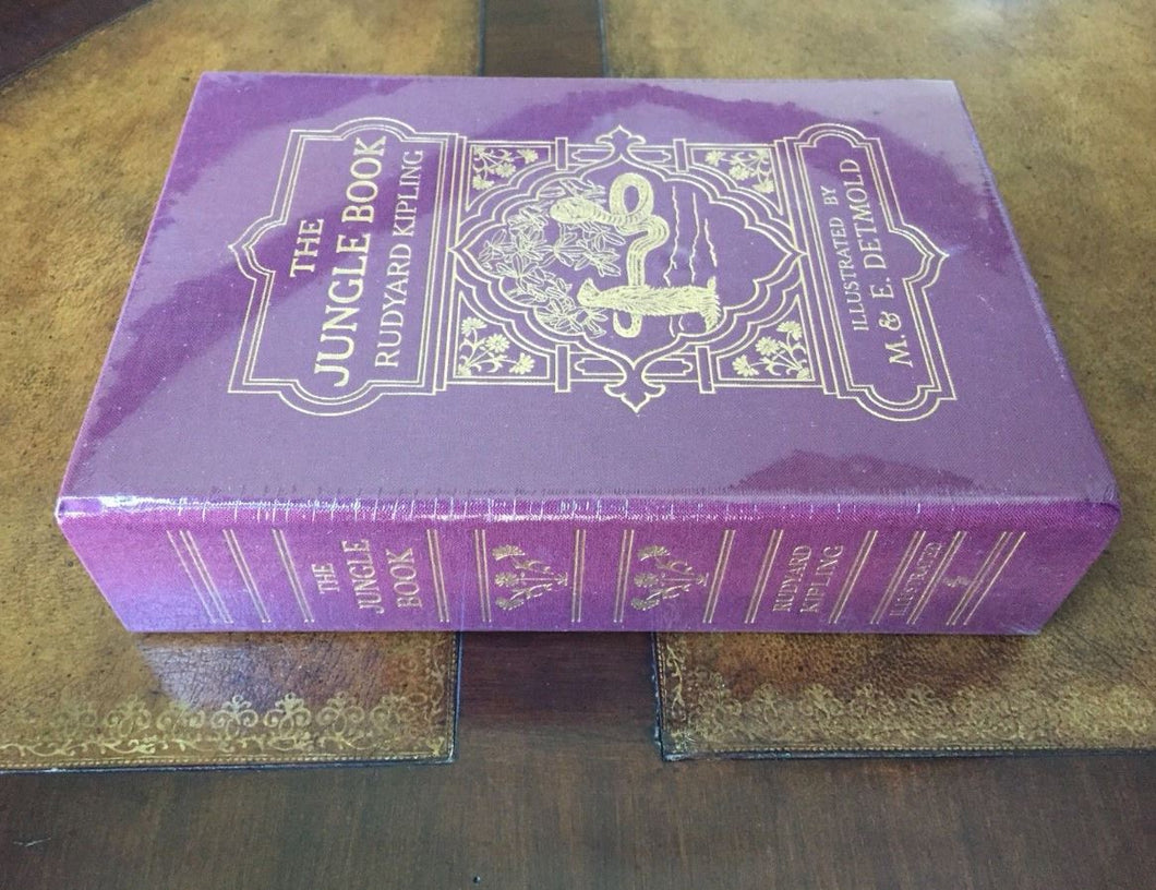 Easton Press JUNGLE BOOK Kipling Deluxe Limited Slipcase Edition SEALED