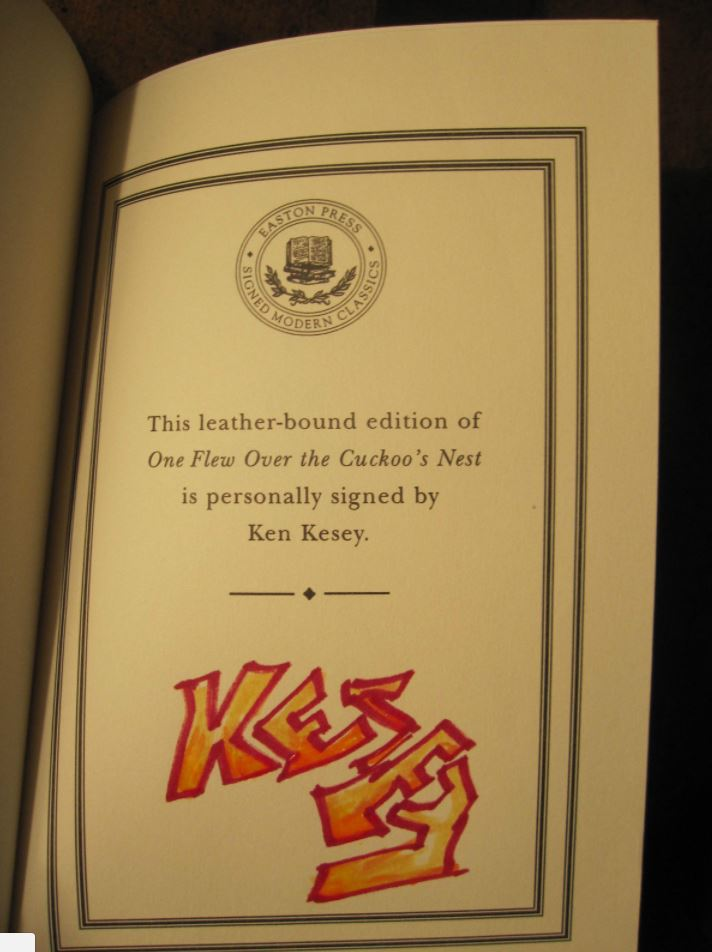 Easton Press ONE FLEW OVER CUCKOO'S NEST Kesey