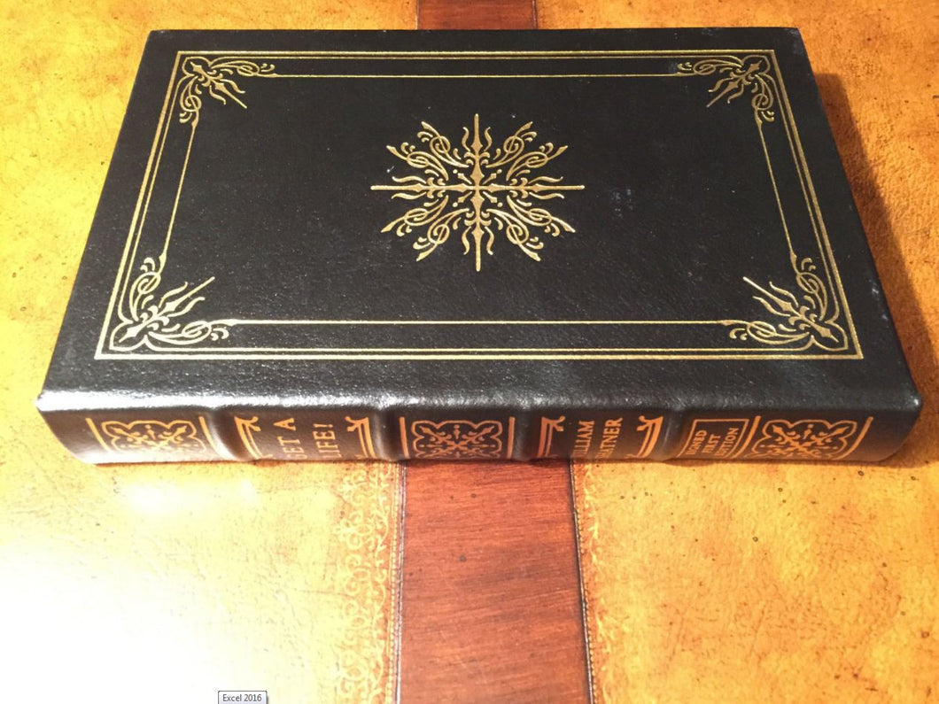 Easton Press GET A LIFE! William Shatner SIGNED FIRST EDITION