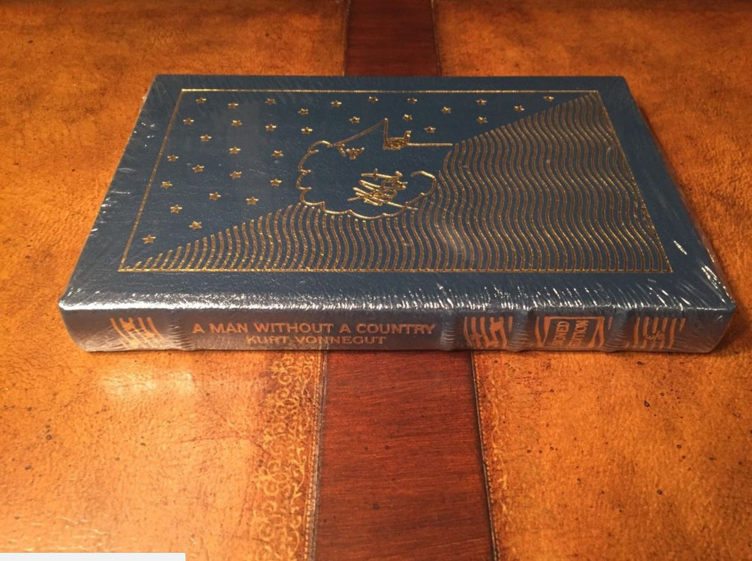 Easton Press MAN WITHOUT COUNTRY Vonnegut SIGNED SEALED