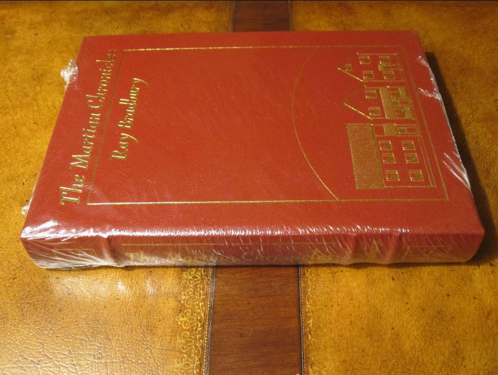 Easton Press MARTIAN CHRONICLES Bradbury SIGNED SEALED
