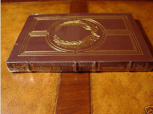 Easton Press OEDIPUS THE KING Sophocles SEALED