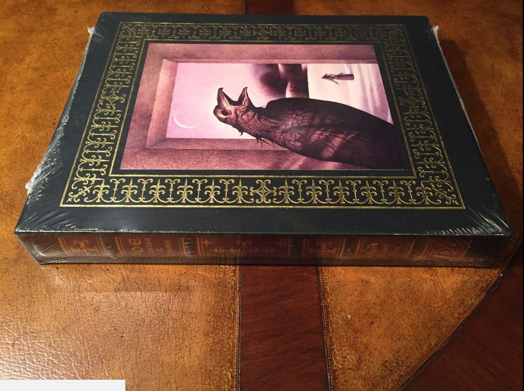 Easton Press POE: STORIES & POEMS Deluxe Limited Slipcase Edition SIGNED SEALED