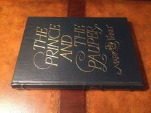Easton Press THE PRINCE AND THE PAUPER by Mark Twain - FAMOUS EDITIONS