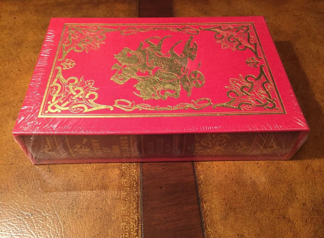 Easton Press HISTORY OF THE CRUSADES 1854 version by Major Proctor SEALED