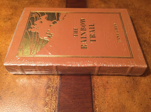 Easton Press RAINBOW TRAIL Zane Grey SEALED