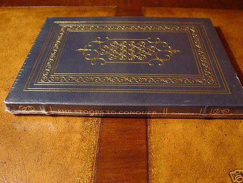Easton Press SHE STOOPS TO CONQUER Goldsmith SEALED