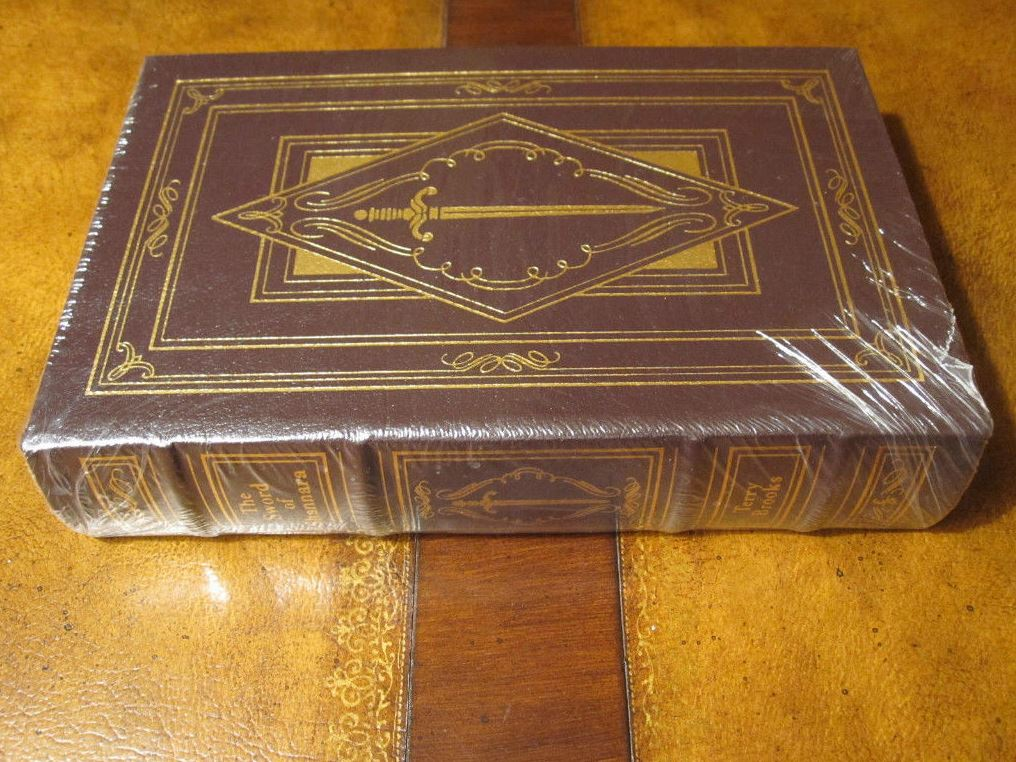 Easton Press SWORD OF SHANNARA Brooks SIGNED SEALED