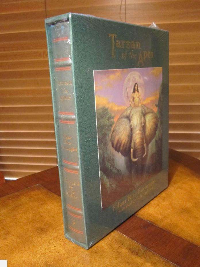 Easton Press TARZAN OF THE APES Burroughs DELUXE edition of 800 SIGNED SEALED
