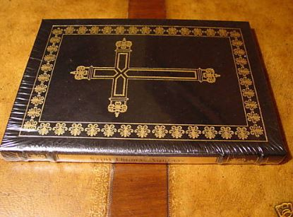 Easton Press WRITINGS SAINT THOMAS AQUINAS SEALED