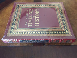Easton Press SMITHSONIAN TIMELINES OF HISTORY SEALED
