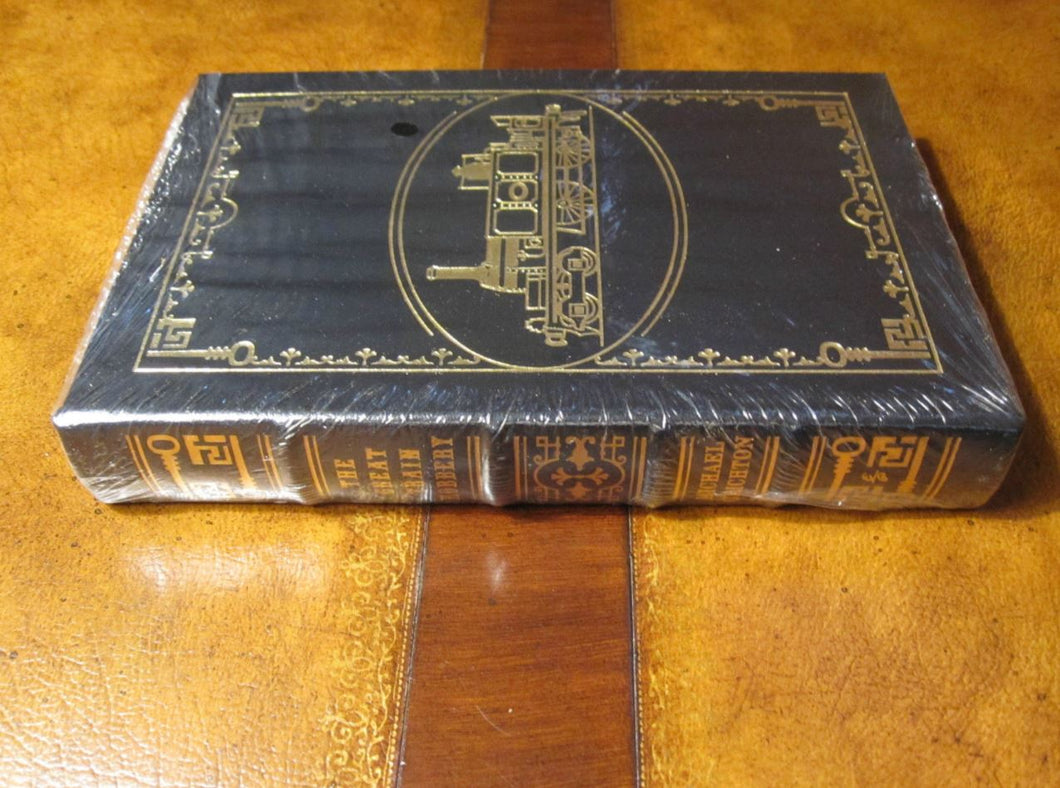 Easton Press THE GREAT TRAIN ROBBERY Michael Crichton SEALED
