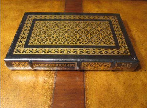 Easton Press SLAUGHTERHOUSE FIVE Vonnegut SEALED SIGNED alternate artwork