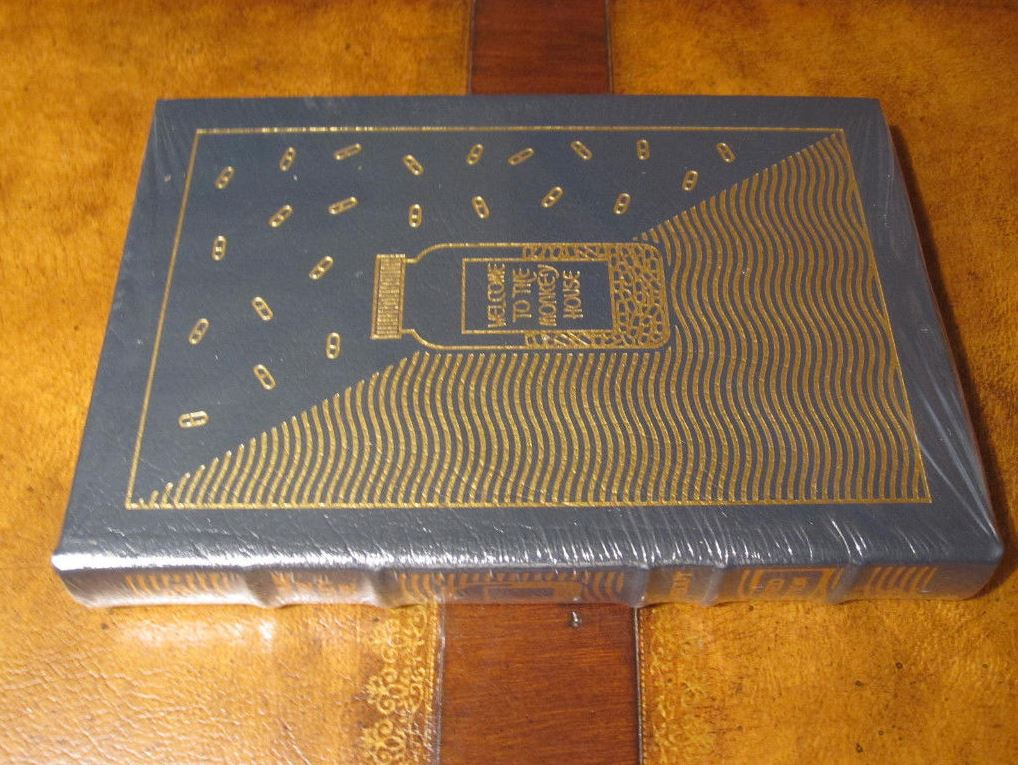 Easton Press WELCOME TO MONKEY HOUSE Vonnegut SIGNED SEALED with minor flaw