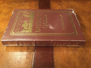 Easton Press DESERT GOLD Zane Grey SEALED