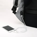 Anti-Theft Backpack with Charger