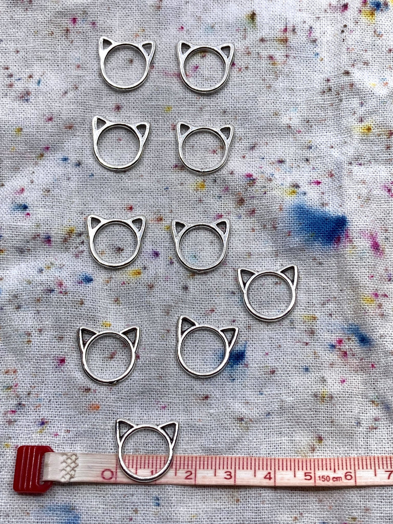 Kitty Stitch Markers - Medium