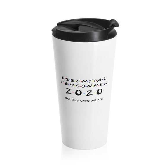 Essential Personnel Stainless Steel Travel Mug