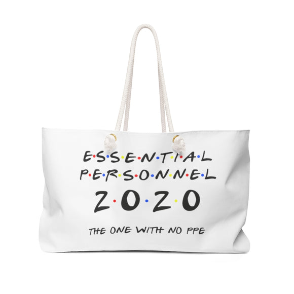 Essential Personnel- The tote bag