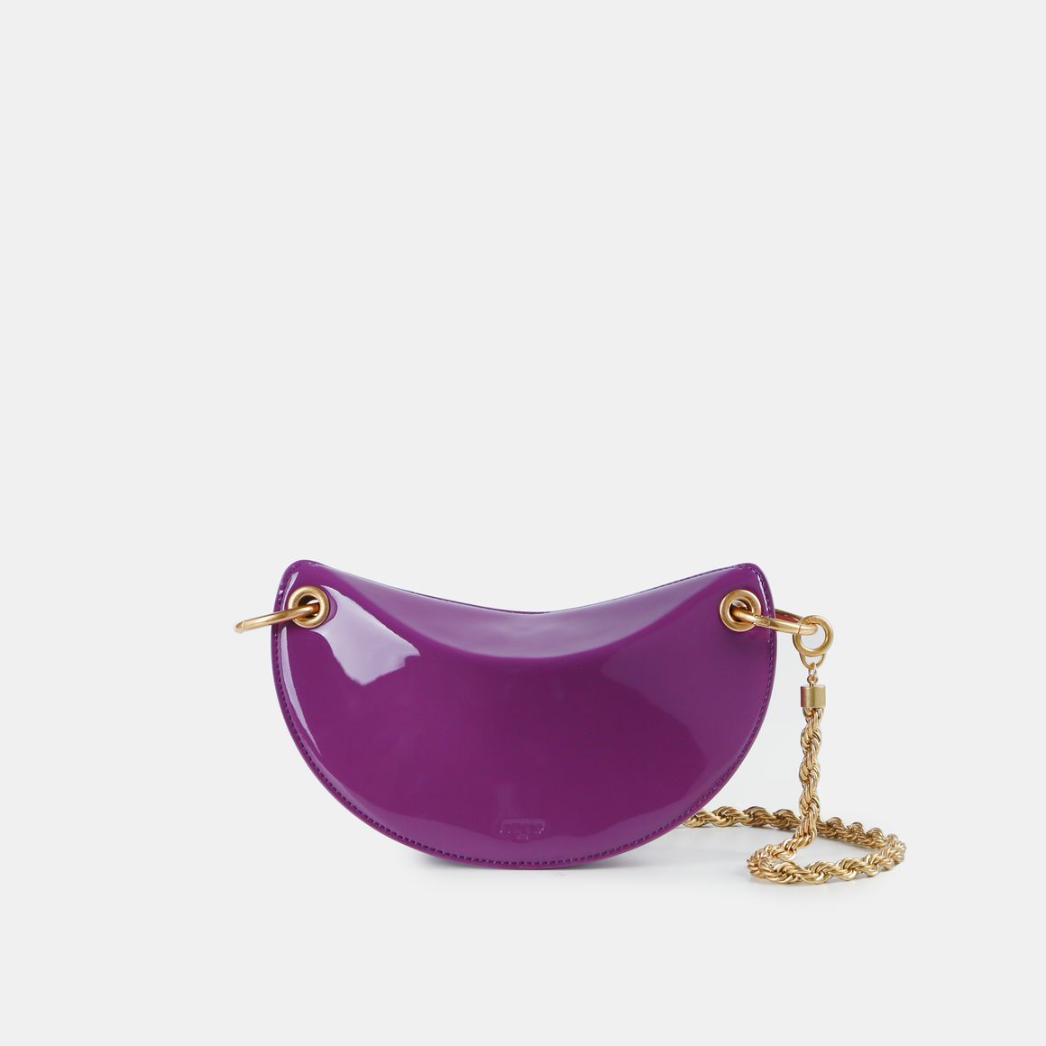 Violet patent leather Crescent (Pre-order)
