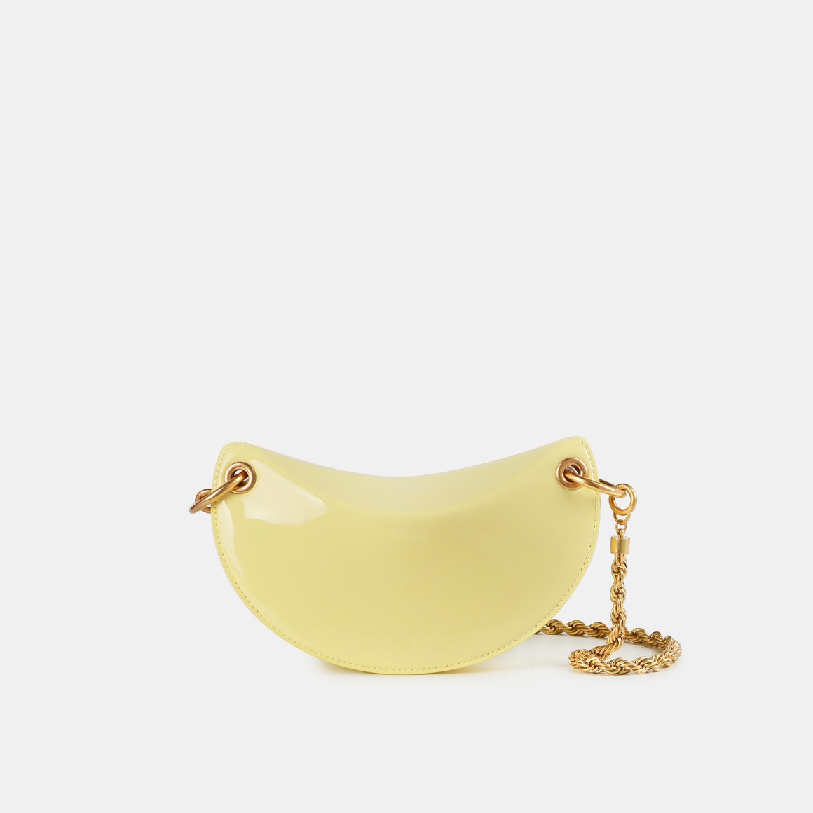Cream yellow patent leather Crescent (Pre-order)