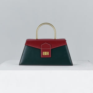 Royal Green with Red Medium Le Book (Pre-order)