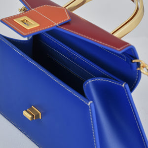 Royal Blue with Red Medium Le Book (Pre-order)