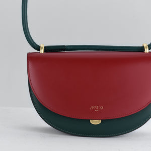 Dark Red with Royal Green Fragment Moon (Pre-order)