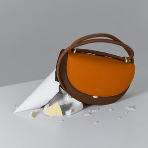 Orange with Brown Fragment Moon (Pre-order)