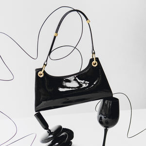Black patent leather Froggy (Pre-order)