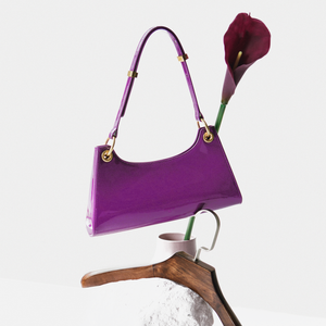 Violet patent leather Froggy (Pre-order)