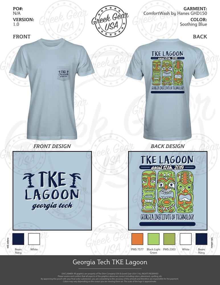 Georgia Tech TKE Lagoon