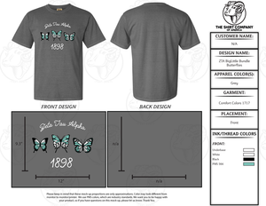 ZTA Big/Little 2020 Shirt Bundle