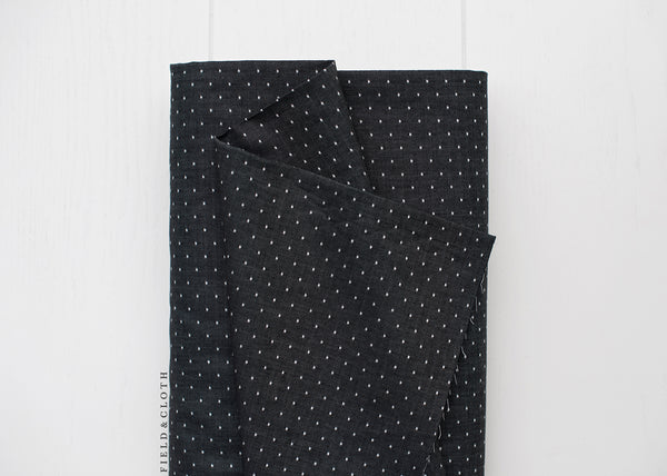 Chambray Union - Dots in Black