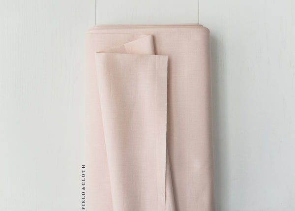 Cirrus Solid - Organic Cotton in Blush