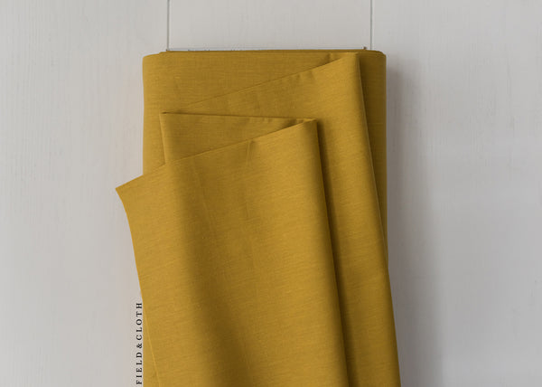 Cirrus Solid - Organic Cotton in Amber