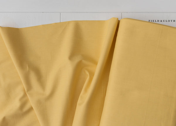 Cirrus Solid - Organic Cotton in Butter