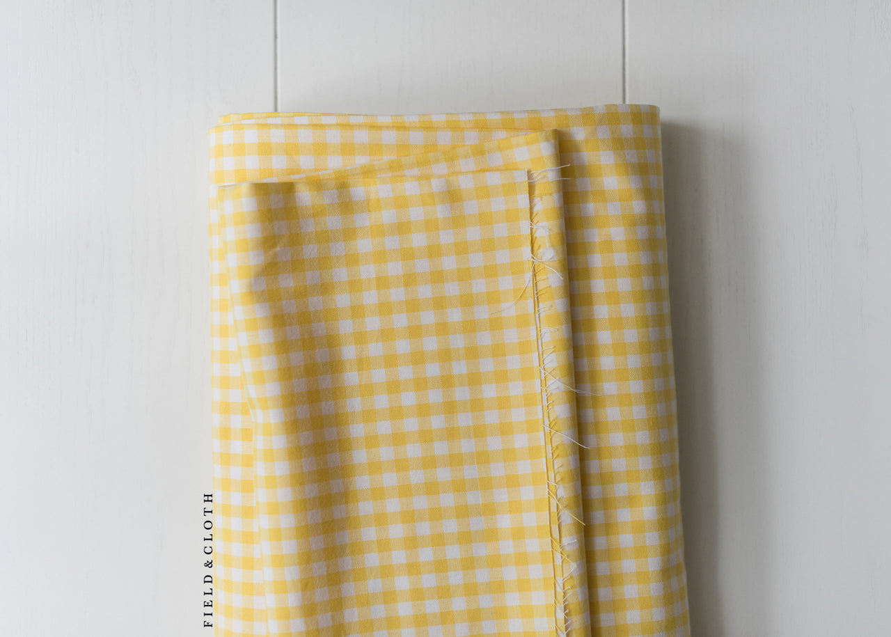 Carolina Gingham - Medium in Yellow