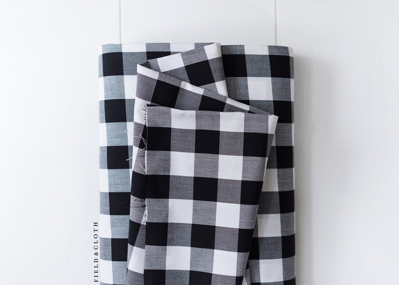 Carolina Gingham - Buffalo Check in Black