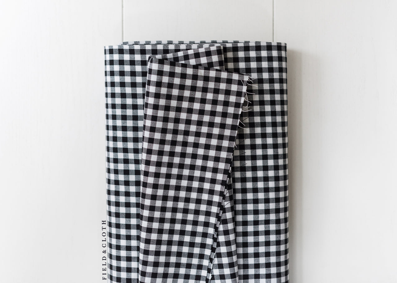 Carolina Gingham - Medium in Black
