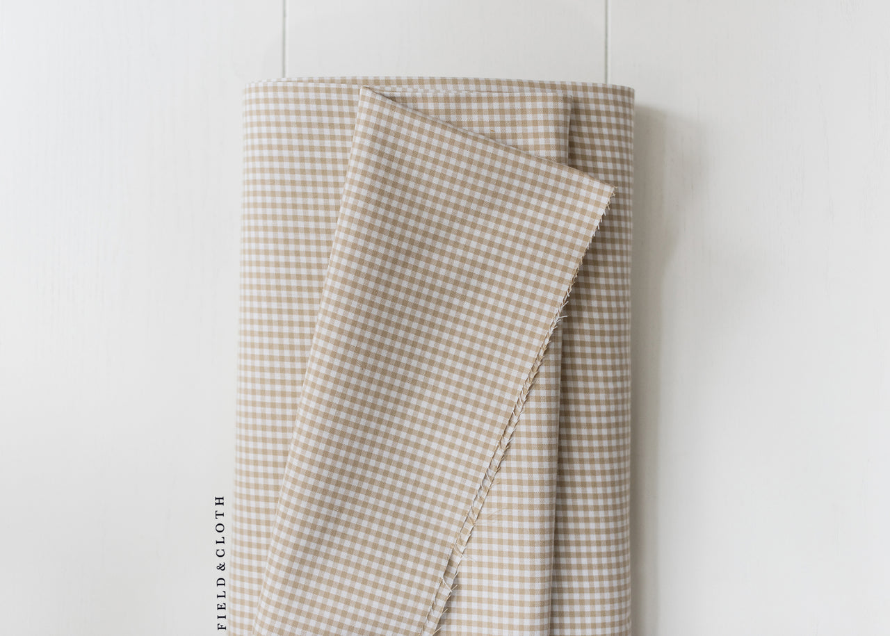 Carolina Gingham - Small in Sand