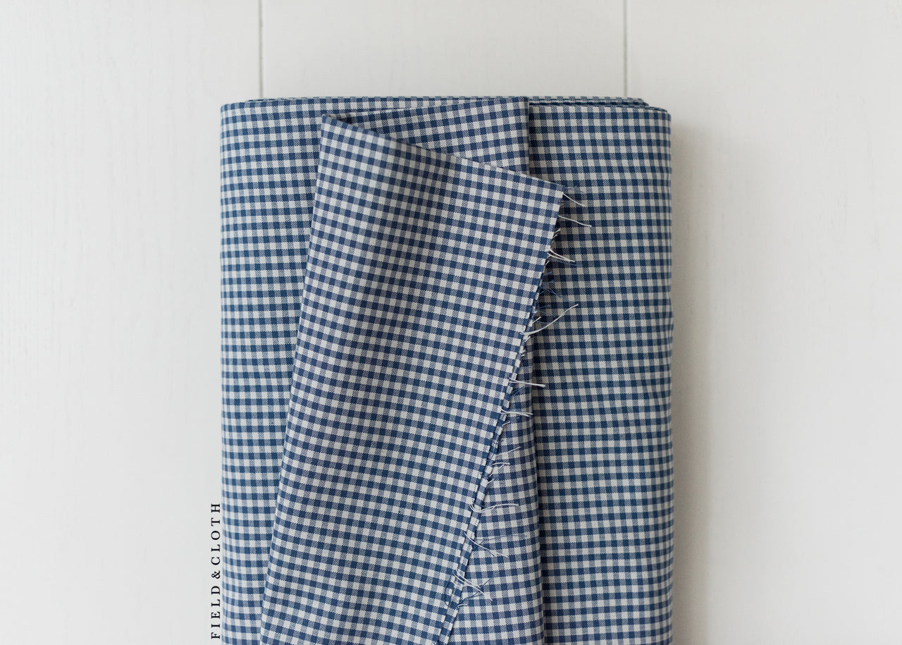Carolina Gingham - Small in Denim