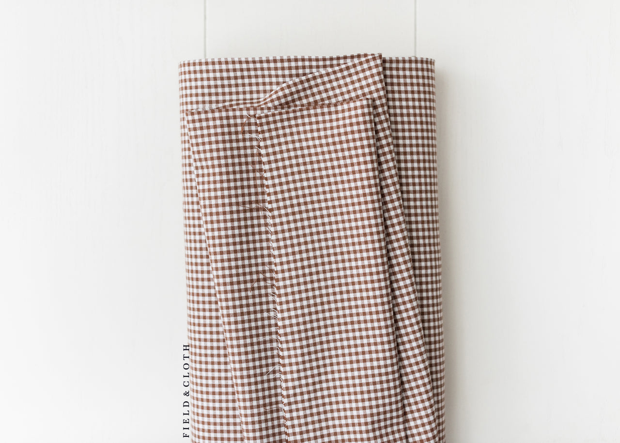 Carolina Gingham - Small in Chocolate