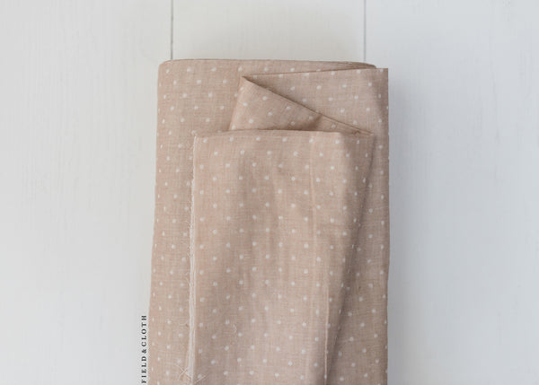 Kokochi - Double Gauze Dots in Beige
