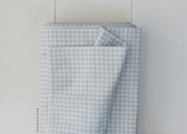 Sevenberry - Baby Basics - Double Gauze Checks in Grey