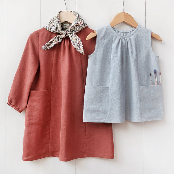 Baby & Child Smock Top + Dress Sewing Pattern
